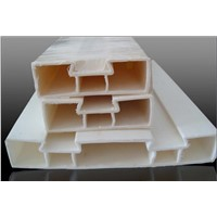 hot sale custom plastic extrusion profile ,pvc window profile