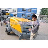hot selling trailer-mounted concrete pump on sale