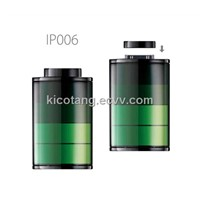 ipoo6 power bank for iphone 4 4s with capacity 1200mAH