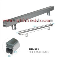 led wall wash light housing