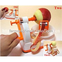 manual apple peeling machine
