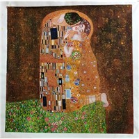 oil painting reproduction,painting copy, Klimt oil painting