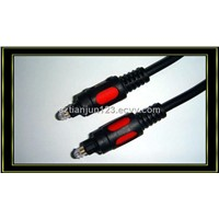 optical digital cable PVC sheath and gold plated connector