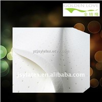 perforated latex foam sheet