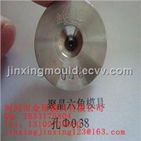 shaped tungsten carbide drawing die