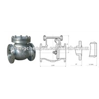 single disc swing check valve