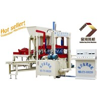 small fully automatic hollow block making machine