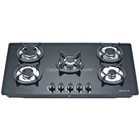 tempered glass hob