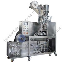 triangle pyramid tea bag packing machine inner and outer bag DXDCH-10E