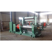 xk-400 two roll rubber mixing mill