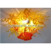 ceiling light and glass decoration ceiling light xo-201123