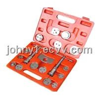 china auto repair tool -18piece disc brake caliper tool set