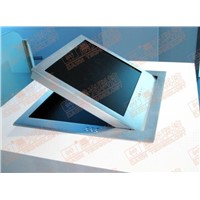 LCD motorized flip top for office table equipment system