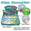 60mm Glitter Diamond Ball (WY-HBB60)