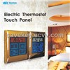 Touch Control Floor Heating Thermostat Switch