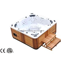 101 jets Outdoor furniture bath tub Spa pool with Balboa system