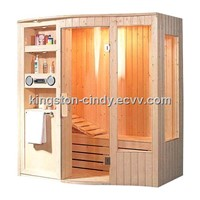 4 person Wooden corner Traditional Sauna room A-801