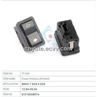 61318368974 Window lifter switch for BMW