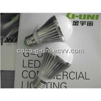 6 w E27 led bulb light