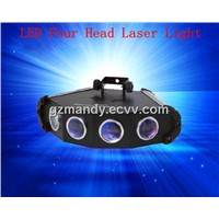 DJ Lighting LED Four Head Laser Light