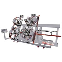 Four Point Welding Machine CNC  (window machine)