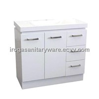 White Vanities With Square Handles (IS-2034)