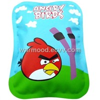 PVC angry bird electric hot water bag ,hand warmer