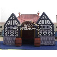 Portable bar tent inflatable pub for outdoor party event solution
