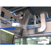 Pre Insulated PU (Polyurethane) Air Duct Panel