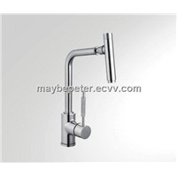 Single handle kitchen faucet mixer tap with bubble universal rmoving head(063070)
