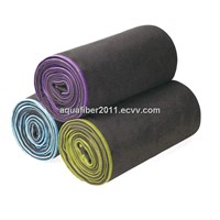 Suede surface Microfiber Super-soft Yoga towel
