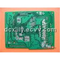 0.35mm Thickness 4 Layers FR4 Multilayer PCB Board for Variable Frequency Drive