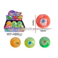 100mm LED Eye Bouncing Ball