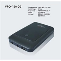10400mAh power bank for notebook & ipad& iphone @smart phone