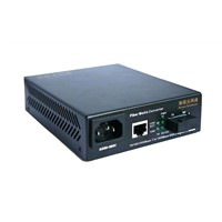 10/100/1000Mbps adaptive Gigabit Ethernet Fiber Media Converter