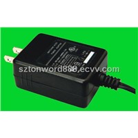 12V 1A PSE UL Wall Plug Adapter