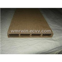 145mm*25mm Hollow Wood Plastic Composite Decking