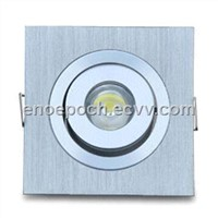 1W Square 90 to 100lm/LED Ceiling Light