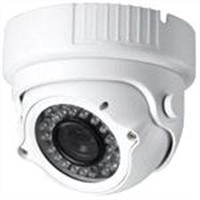 "1/3"" CMOS 600TVL 4-9mm Lens IR Dome Security Camera 36PCS LEDs"