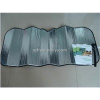 2012New desigh foldable car sunshade