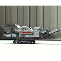 2012 New Crawler Type Mobile Crusher Plant