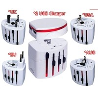 2012 New Universal Travel Plug Gift ,International All-In-One Power Adapter,World Travel Charger