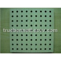 2012 Wooden grooved perforated Acoustic Panel