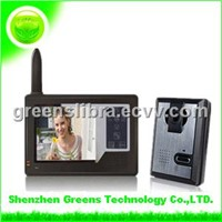 2.4GHz 3.5 Inch Touch Screen Wiereless Video Door Phone (GVDP359)