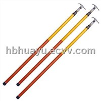 35KV telescopic high voltage hot stick