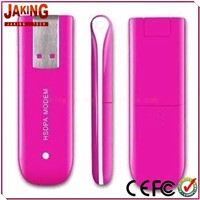 3G USB Card with Internal Antenna, Supports SMS, Plug-and-play Function and Voice Service
