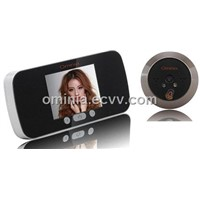 3.0-inch LCD Door Viewer with Auto-detection Infrared Night Vision and Image Zoom(OM13-P)