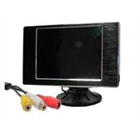 3.5-inch LCD Monitor Supports PAL/NTSC and Automatic Identification