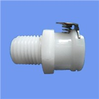 "3/8"" POM NBR pipe fitting / plastic quick coupling/connection manufacturer"