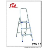 3step household aluminum ladder,thickness of aluminum 1.2mm